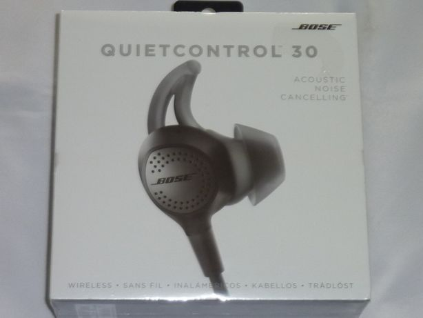 Słuchawki BOSE QC30 - QuietControl 30 - Nowe z Gwarancją