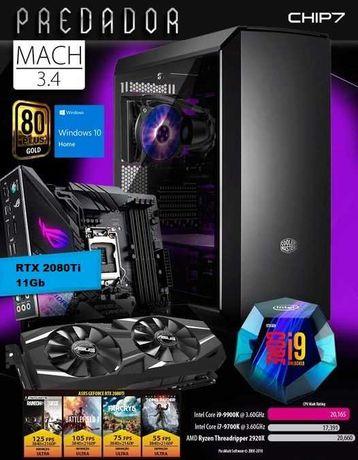 PC Gaming i9 RTX 2080 Ti 32GB RAM