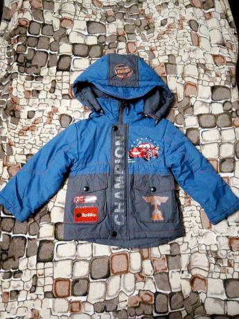 Куртка и комбинезон осень для мальчика на 3-4 года