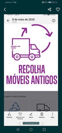 Recolha de móveis e limpezas