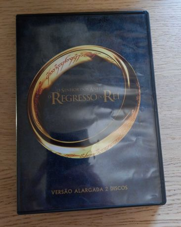 DVD Lord of the Rings The Return of the King -Special Extended Edition