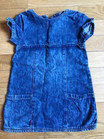 Стильное джинсовое платье Некст на 2-3 года Next