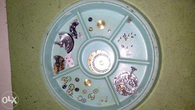 Reparação e manutenção de relógios
