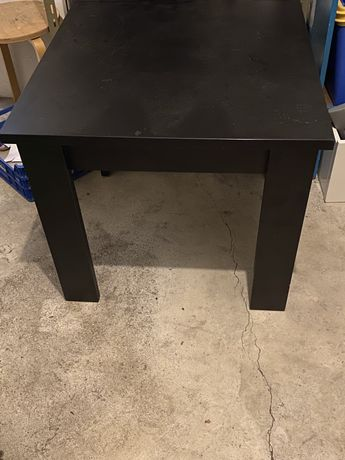 Mesa de centro/apoio preta