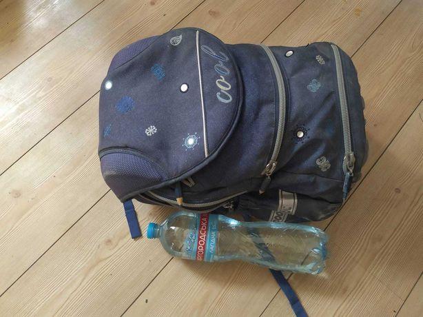 Рюкзак школьный синий, ортопедический 40x28x20см.