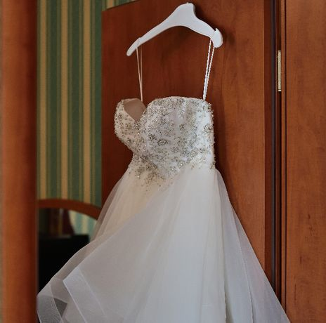 Suknia ślubna marki Annais Bridal rozm. 36 Princessa kolor IVORY