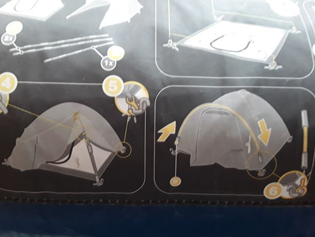 Nowy namiot 3 osobowy z tropikiem zakupiony w Decatlonie + 2 śpiwory !