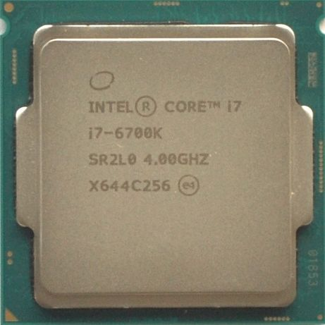Процессор i7 6700K 4.0GHz 8Mb Intel Core 1151 SR2L0   Гарантия 1 Год
