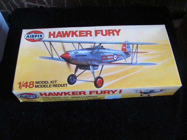 "Модель Самолета Airfix"" Hawker Fury I Fighter"" 04103-0 Масштаб 1:48"