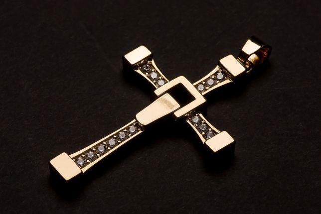 Złoty Krzyż 14K-585 pr.