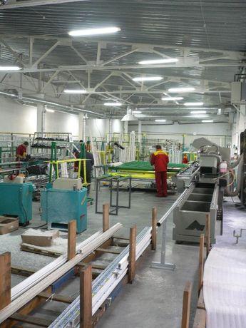 Комплект станков для производства окон ПВХ и стеклопакетов