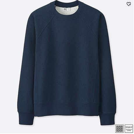 Uniqlo U Long-SLEEVE SWEATSHIRT кофта свитшот