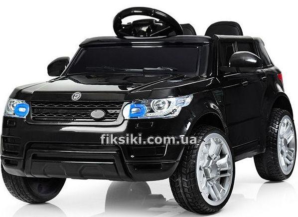 Детский электромобиль FL 1638 EVA BLACK, MP3, Дитячий електромобiль