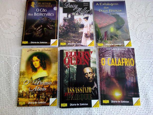 Lote de 6 livros de bolso - Somente 5,00 €!