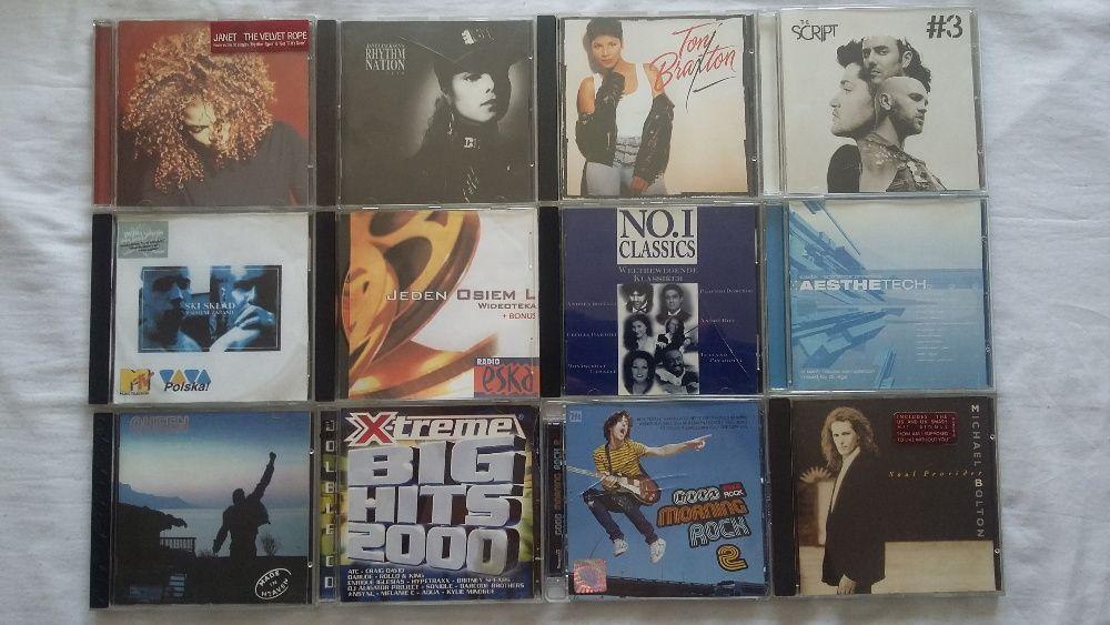 Płyty CD. Zestaw,pakiet. 90sztuk. Myślibórz - image 1