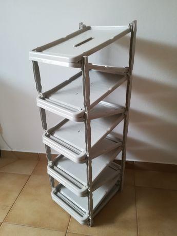 Sapateria PVC cinza - 10 pares
