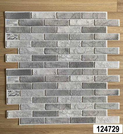 Пластиковые панели 3Д под кирпич, камень,плитку,мозаика (ПВХ) листовые