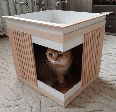 Дом, домик для кота / кошки ручная работа
