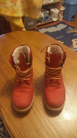 Ботинки набук зимові