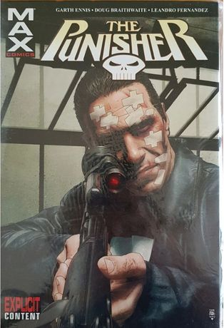 Punisher MAX vol.2 HC ang oversize