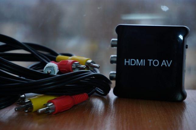 Переходник: PlayStation 4 Pro HDMI → TV/AV