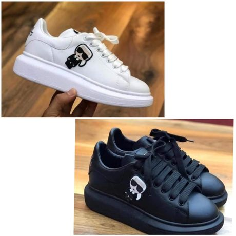 3 kolory! Damskie sneakersy KARL LAGERFELD 36,37,38,39,40 Hit,pobranie