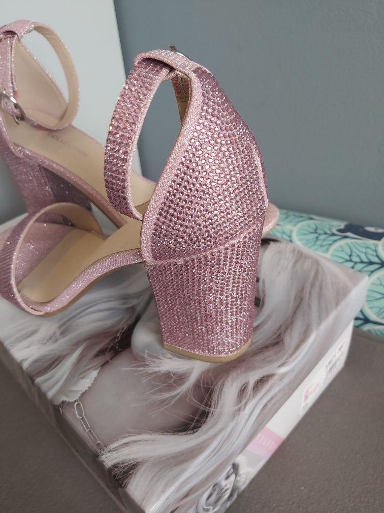 Sandałki różowe Ritaora