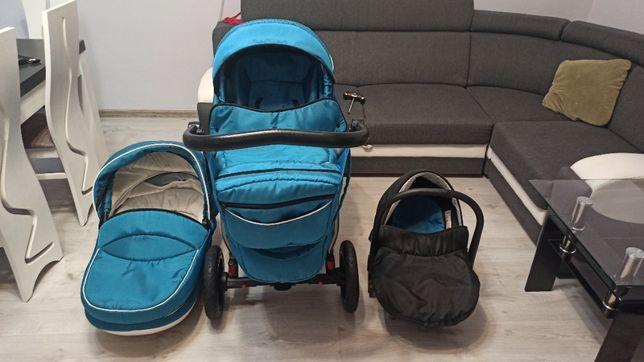 OKAZJA Wózek lekki Dorjan baby boat 3w1 + GRATIS WANIENKA