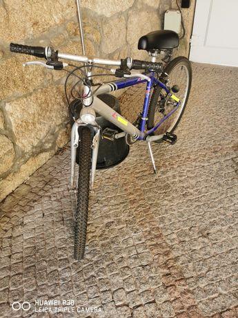 Bicicleta Esmaltina roda 26 com luzes