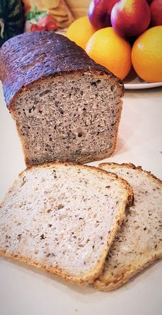 Upiekę domowy chleb na zakwasie.