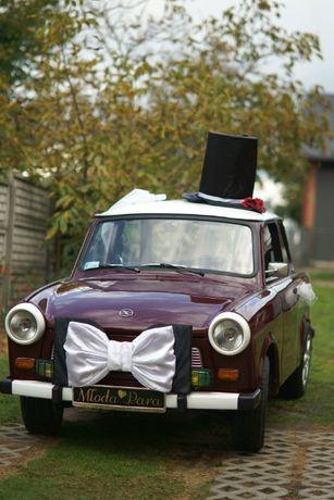 Zabytkowy pojazd do ślubu