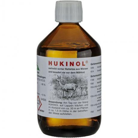 Zapachowy odstraszacz dzikiej zwierzyny Hukinol 500 ml