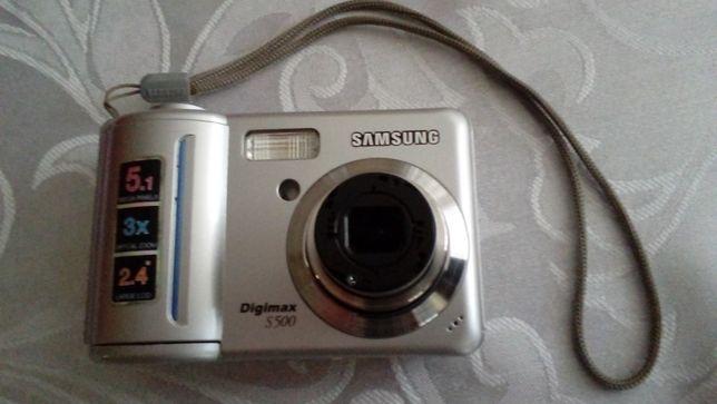 Aparat Canon i Samsung