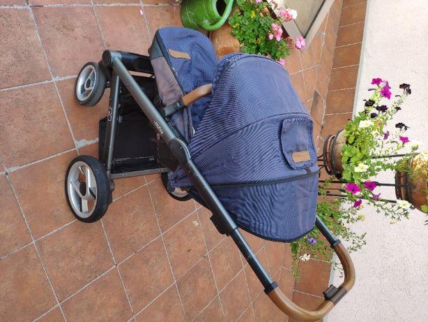 Mutsy Igo / i2 - wózek wielofunkcyjny, zestaw 2w1 z opcją 3w1