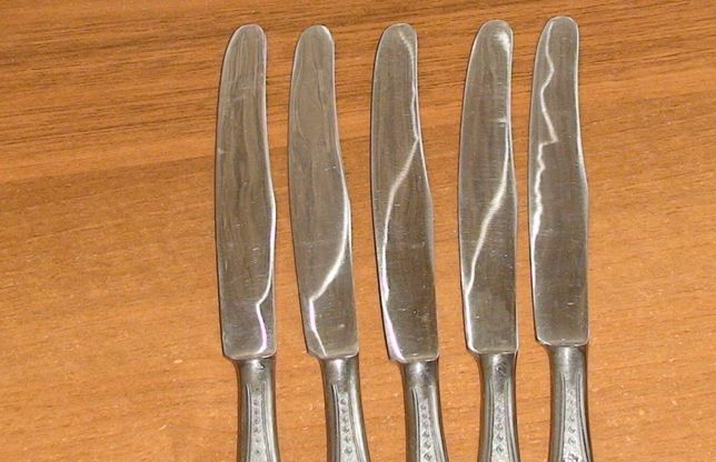 Столовые ножи нержавейка СССР