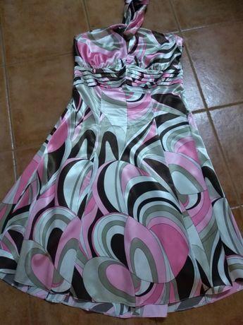 Vestido estampado Fabrico Nacional