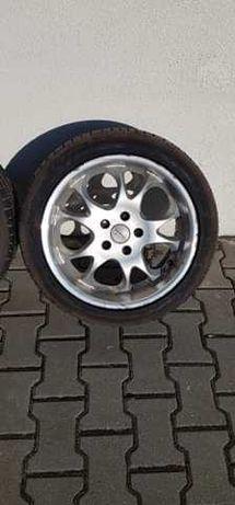 Koła 225/45ZR17 z felgami po dwóch sezonach  VW letnie