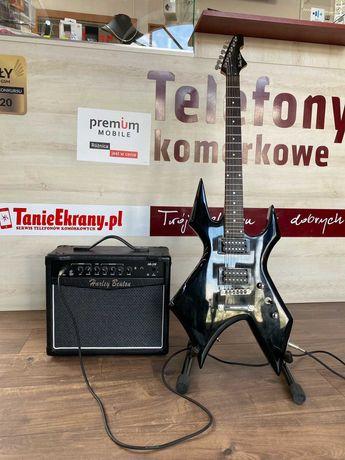 Gitara elektryczna HARLEY BENTON WL-20BK/ Wzmacniacz Gitarowy/ LOMBARD