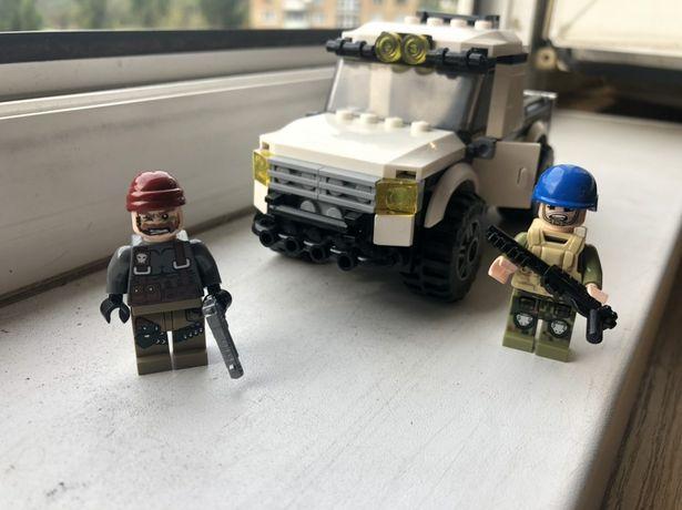 Конструктор Лего военные lego машинка