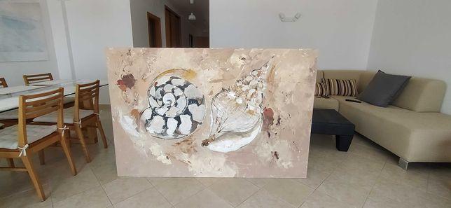 Quadro de grandes dimensões / Pintura a óleo - Pintora Sofia Lucas