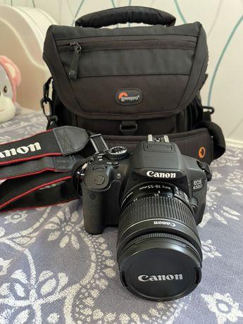 Зеркальный фотоаппарат Canon EOS 650D kit 18-55 (6992 пробег)