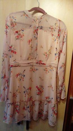 Sukienka letnia, zwiewna, rozmiar 40 Orsay