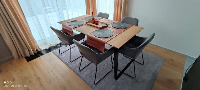Stół rozkładany 180-270 x 100 dębowy olejowany ML 180