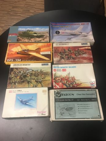 Vários Kits - Fujimi, Hasegawa, Esci, etc