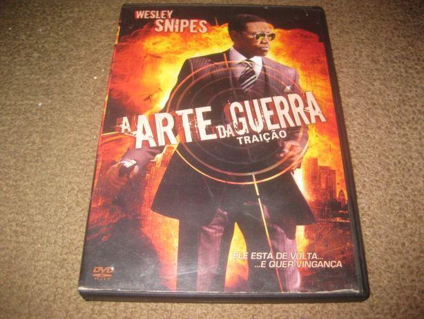"""DVD """"A Arte da Guerra-Traição"""" com Wesley Snipes"""