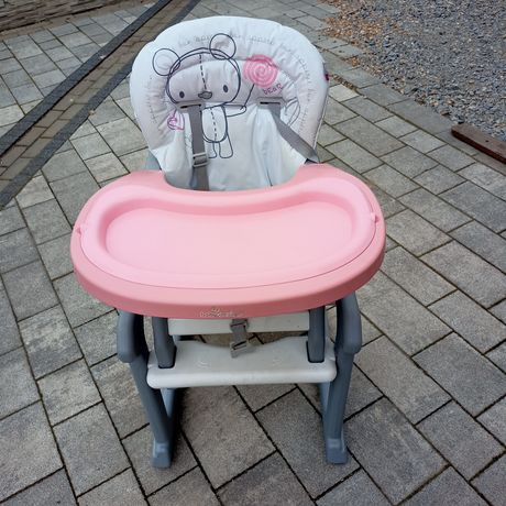 Baby design krzesełko do karmienia 2in1