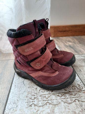 Зимние сапоги ботинки Ecco 28р