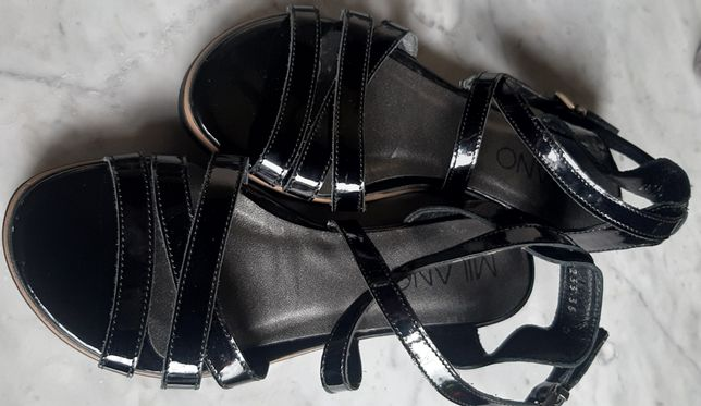 Nowe sandały dziewczęce MILANO rozmiar 35