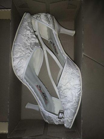 Rezerwacja/Buty ślubne białe