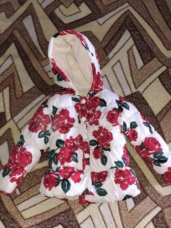 Курточка на девочку 3 года